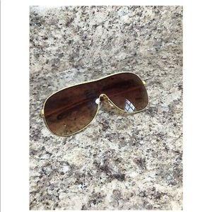 Accessories - Aviator Sunglasses Metal Frame Vintage 1970's